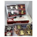 2008 SILVER US MINT PROOF COIN SET