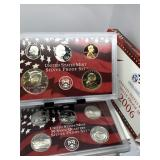2006 SILVER US MINT PROOF COIN SET