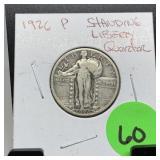 1926 STANDING LIBERTY SILVER QUARTER