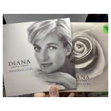 1997 DIANA COMMEMORATIVE 5 POUND COIN