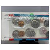 1971 UNC COIN SET P & D