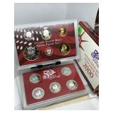 2000 SILVER PROOF COIN SET