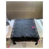 EARLY 20C SILK TABLE CLOTH
