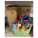 LARGE LOT OF MISC TOYS AND MORE