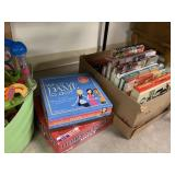 LOT OF GAMES AND BOOKS