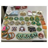 LOT OF VTG BOY SCOUT PATCHES