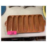 CAST IRON ORANGE CORN BREAD MOLD / PAN