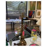 VTG BRASS TABLE LAMP