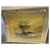 ORIGINAL WATERCOLOR PAINTING BY ANTON WEISS LISTED