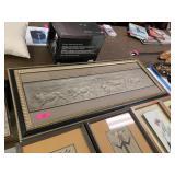 LARGE LION PRIDE WALL ART PIECE