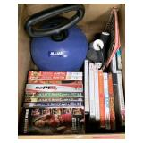 LOT OF WORKOUT DVDS / EQUIPMENT