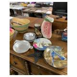 LOT OF MISC DISHES / PITCHER / MORE