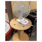OSCILLATING FAN AND SPOOL