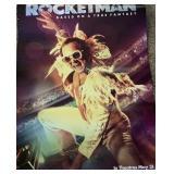 DOUBLE SIDED ROCKETMAN / ELTON JOHN MOVIE POSTER