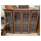 LEADED GLASS HUTCH TOPPER ONLY