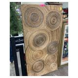 LARGE TEXTURAL TWINE WALL ART PIECE