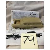 Model Car and Parts