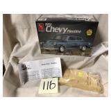 AMT 51 Chevy Fleetline w Bulldog shell