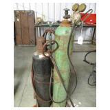 Acetylene torch tank for welding