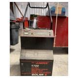 Solar 1700 12 v 950am heavy duty jump starter