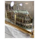 Notre Dame 3d Puzzle under plexiglass
