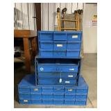 Commercial Screw Bins with stand (3 tms money)