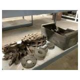 Large Roller Chain, Brackets and More