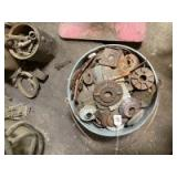 Lot of Malleable Cast Washers
