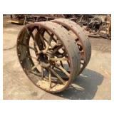 John Deere Model GP Rear Wheels