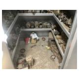 Miscellaneous Magnetos and Parts (Fifth Shelf and Floor)