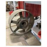 Harris? Belt Pulley with Clutch