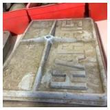 Harris Engine Inspection Plates