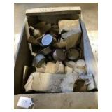 Wooden Box of Grease Cups