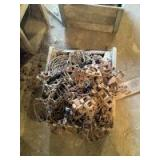 Large Box Full of Malleable Chain