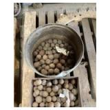 """Two Containers of Used """"Ball Tread"""" Ball Bearings"""