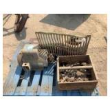 Baldor Standard Rotation Industrial Motor L3708 and Miscellaneous Items