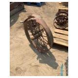 One Pair of Steel Wheels