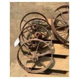 Steel Wheels, Set of Four