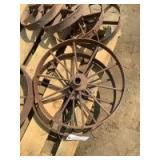 Steel Wheels, Set of Two