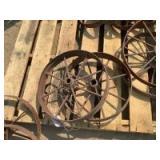 Spoked Wheels, One pair