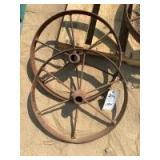 Steel Wheels, One Pair