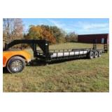 Triple Axle Gooseneck Trailer