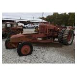 Farmall Super M Grader Conversion