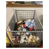 Heavy duty roll cart and stuffed animals