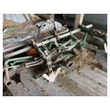 Oliver Super 44  Cultivator bracket and sweeps