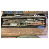 Tray of tools