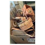 Large box of baskets