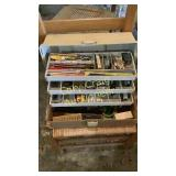 Tackle box with contents 2 each