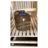 Brown crock jug