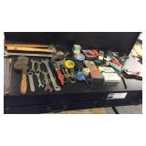 Hammers, Vice grip, assorted wrenches, Assorted